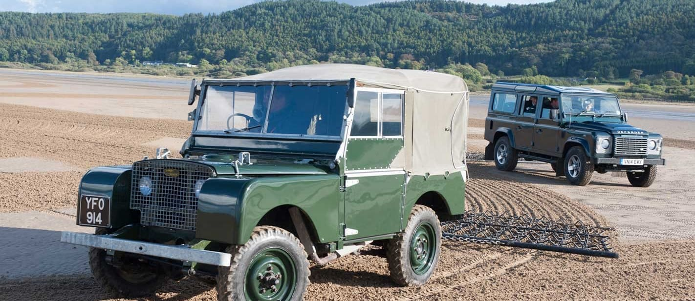 70 years of Land Rover 4x4 History