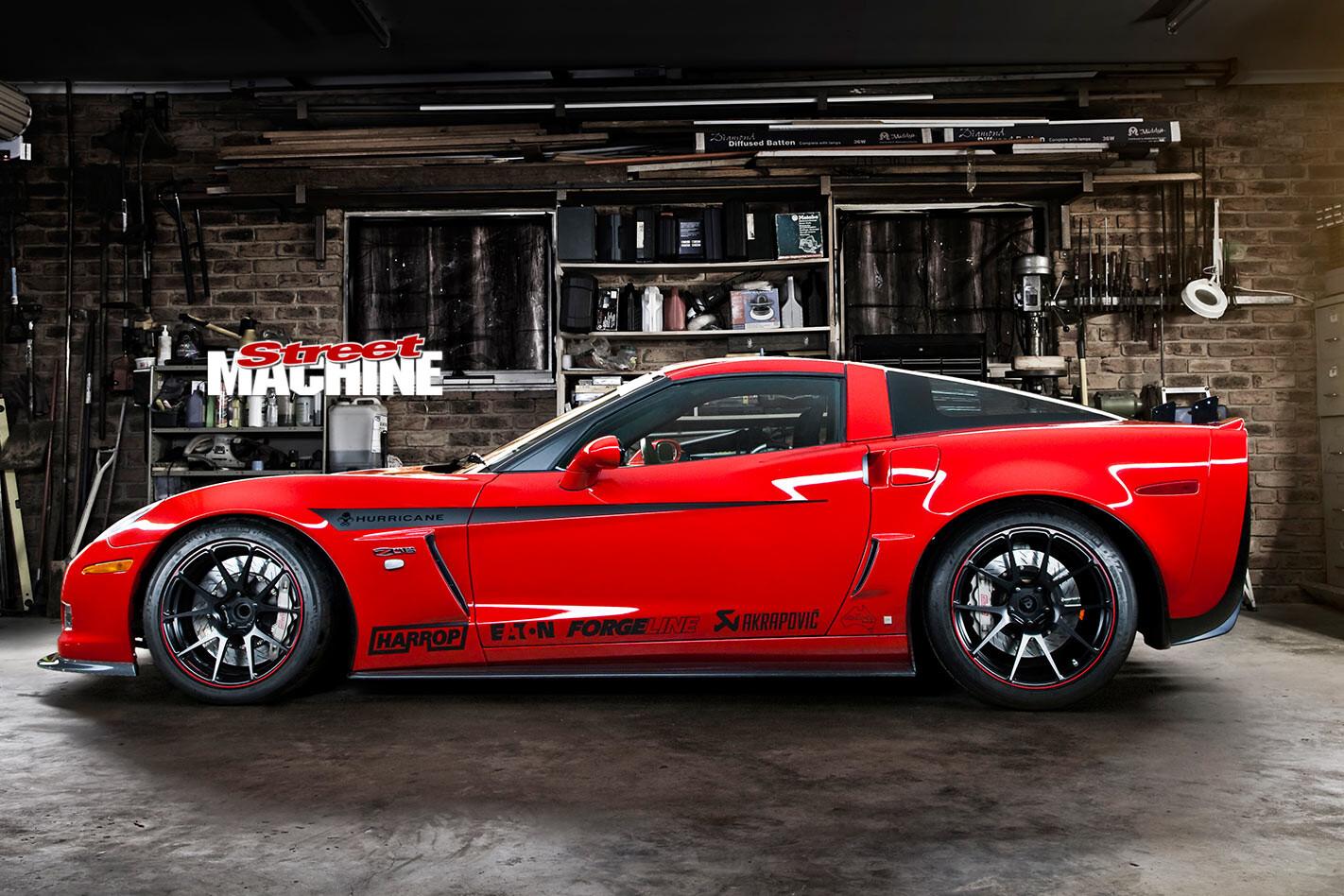 Chevrolet Corvette Z06 side
