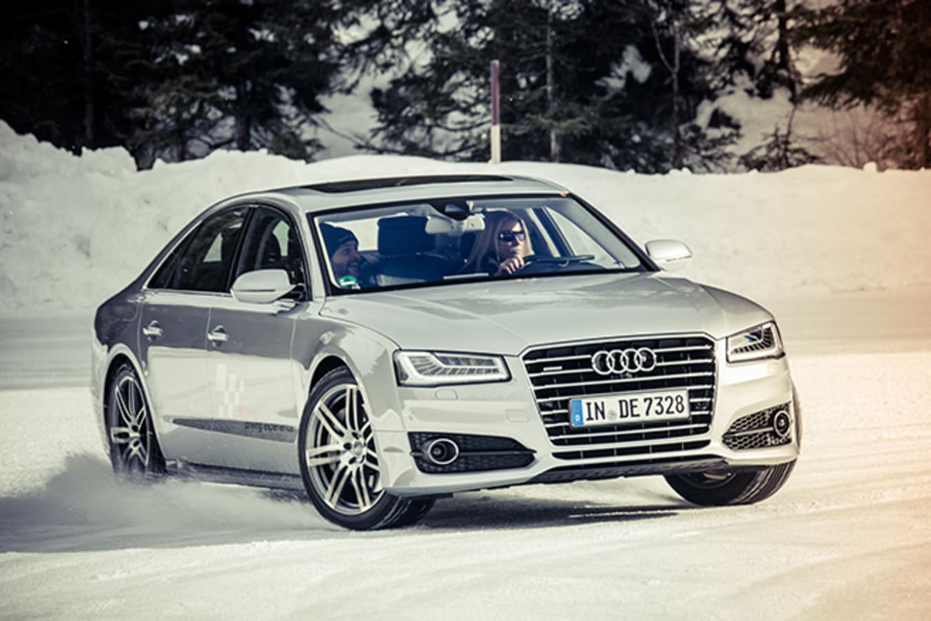 Audi Driving Experience- drifting ice