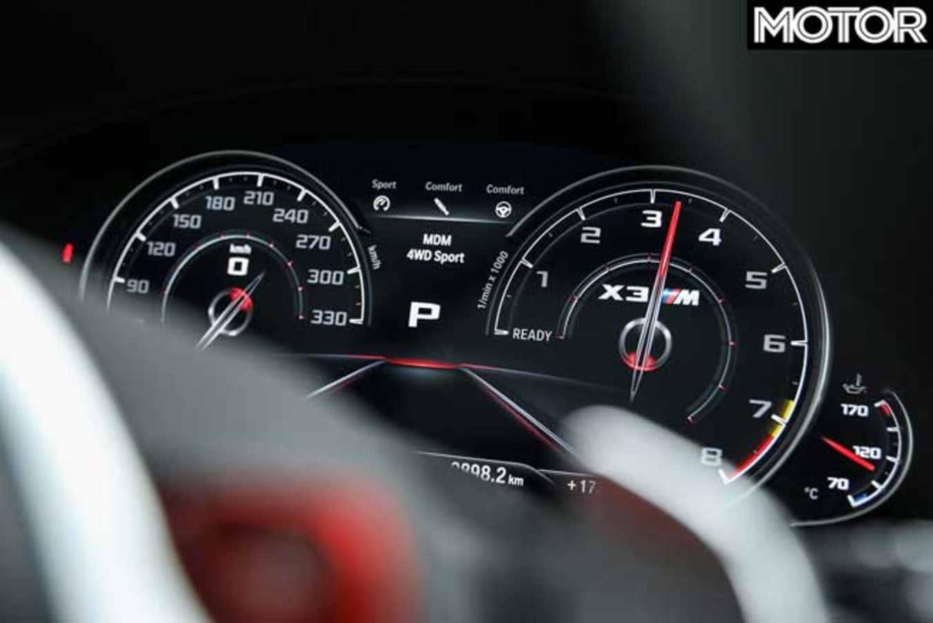 BMW X 3 M Competition Rev Counter Jpg