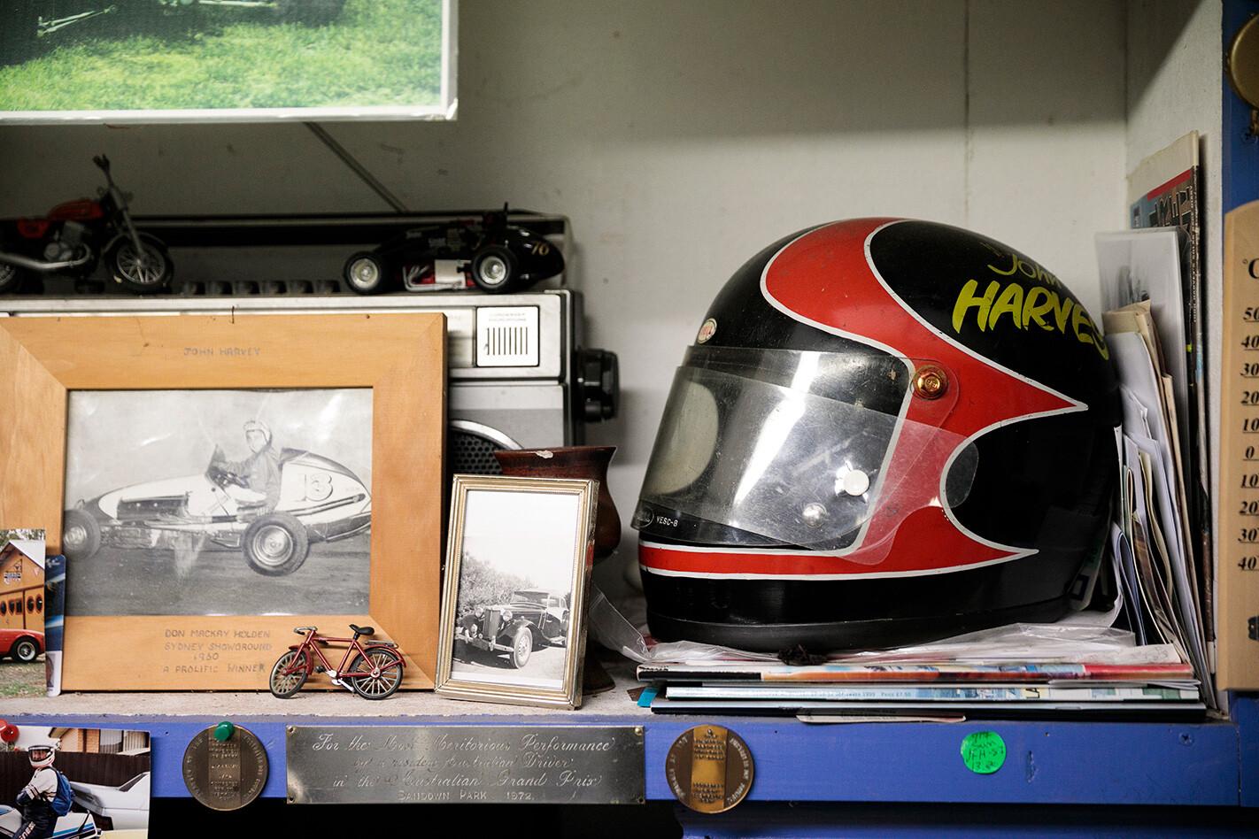 John Harvey memorabilia.jpg