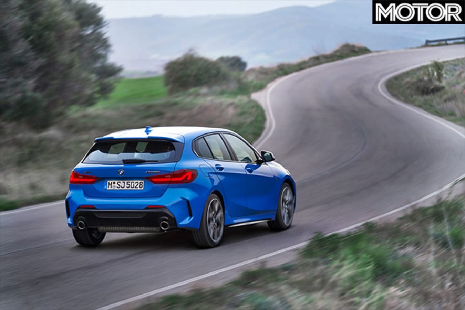 2020 BMW M135i driving