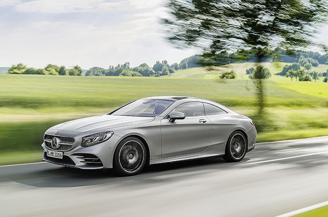 2018 Mercedes S Class Coupe