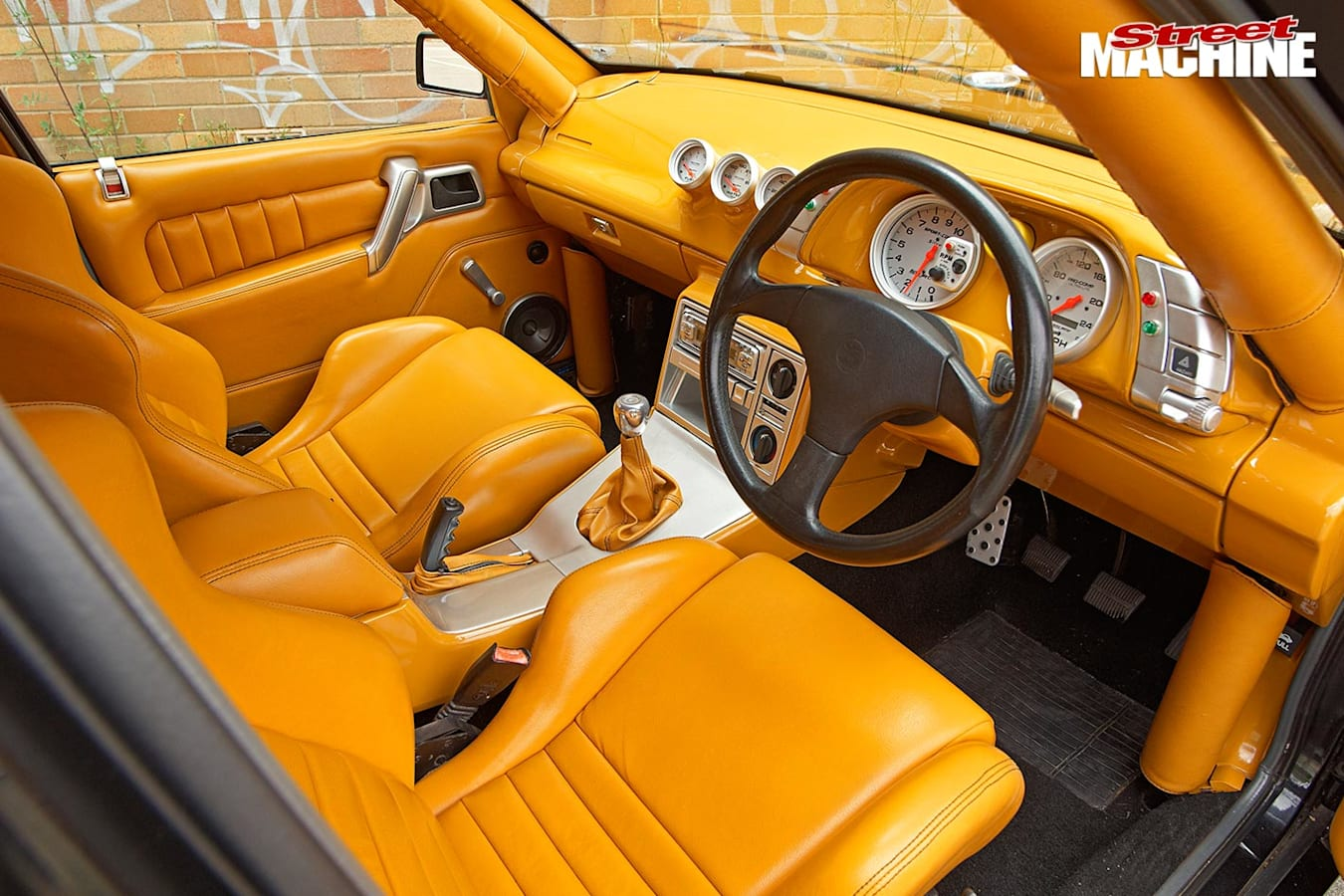 Holden VN Commodore interior front
