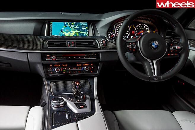 Bmw -M5-Pure -interior