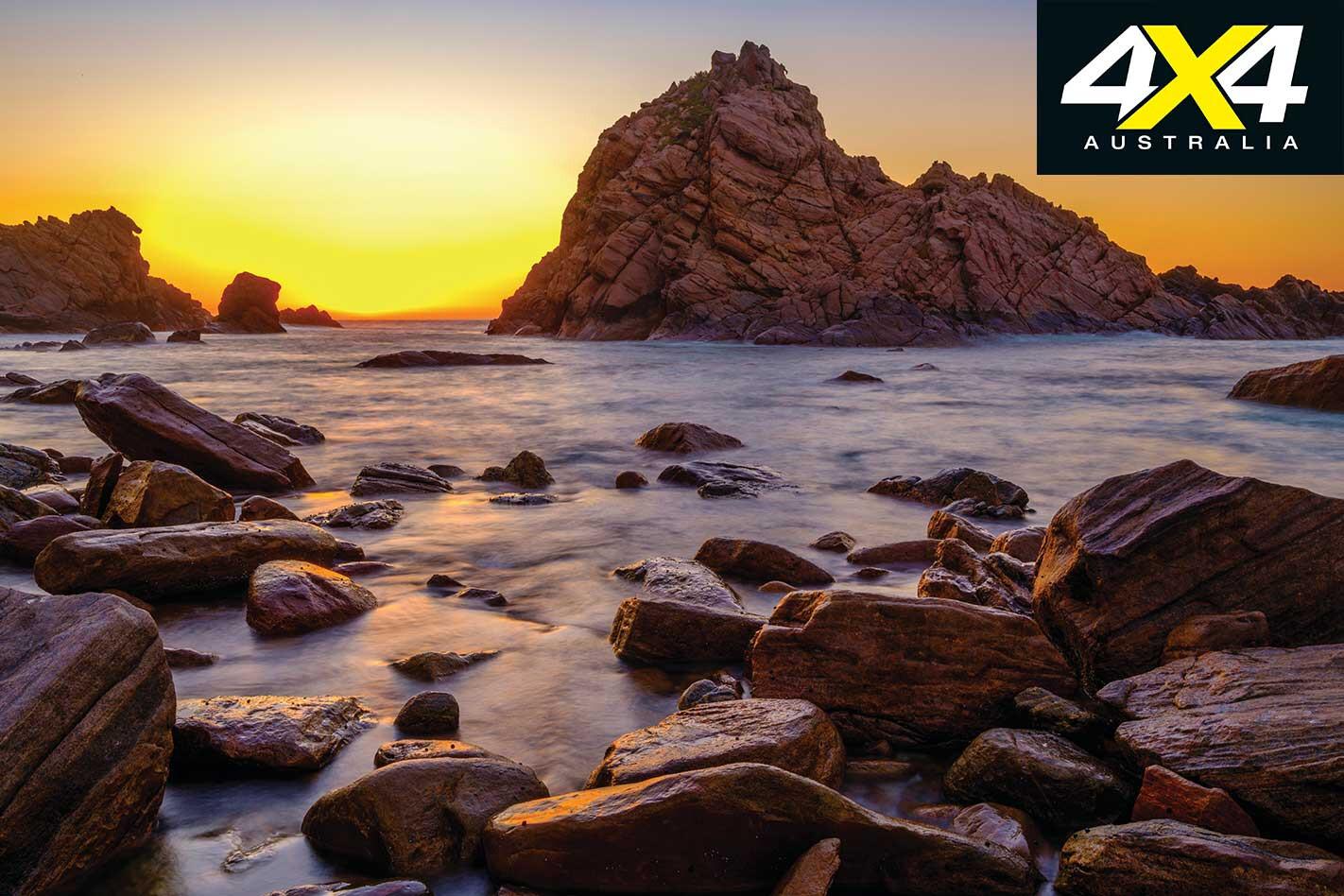 Perth Escapes Leeuwin Naturaliste National Park Sugarloaf Rock Sunset Jpg