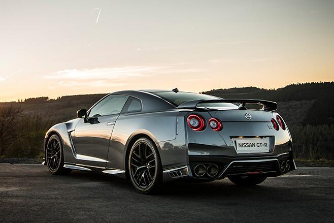 Nissan GT-R rear
