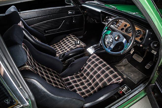 Ford Capri interior