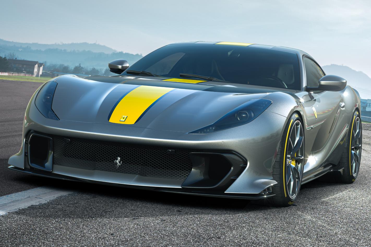 2021 Ferrari 812 Superfast Special Series 3 Png