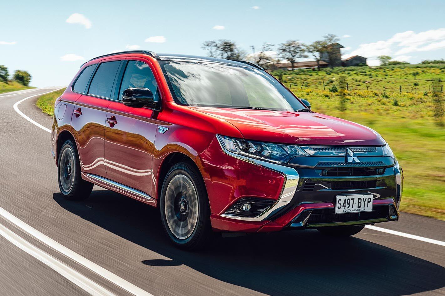 Mitsubishi Outlander PHEV GSR review