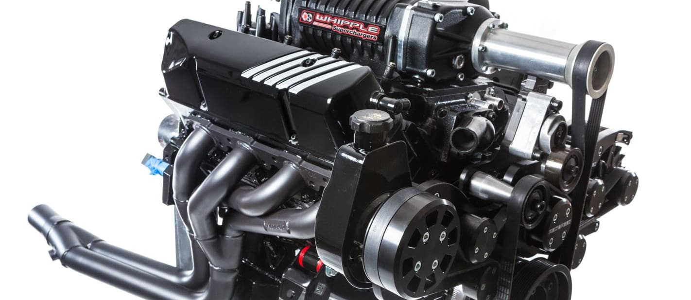 Holden 355 supercharged