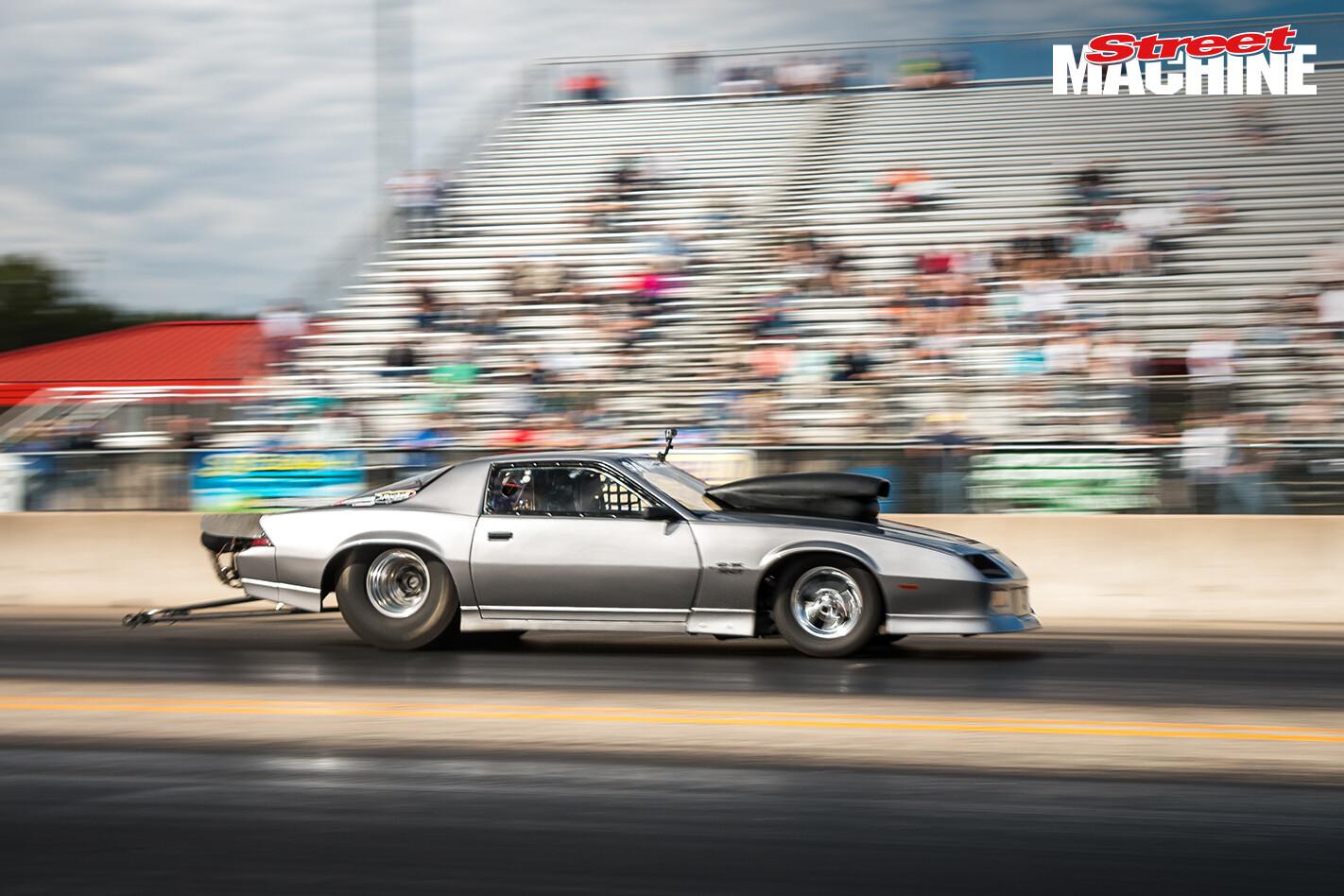 Chevy Camaro Drag Week Mike Wenzler