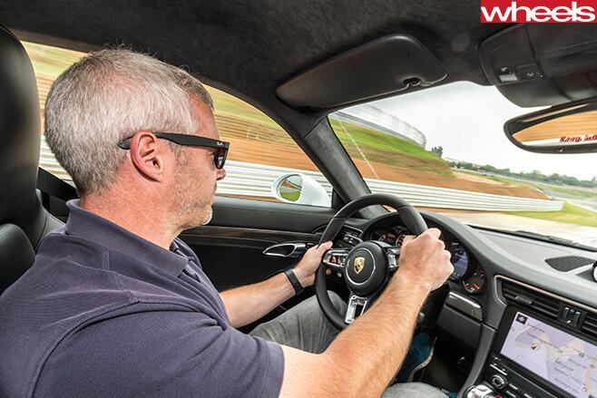 Audi -s 3-vs -subaru -wrx -sti -driving -interior