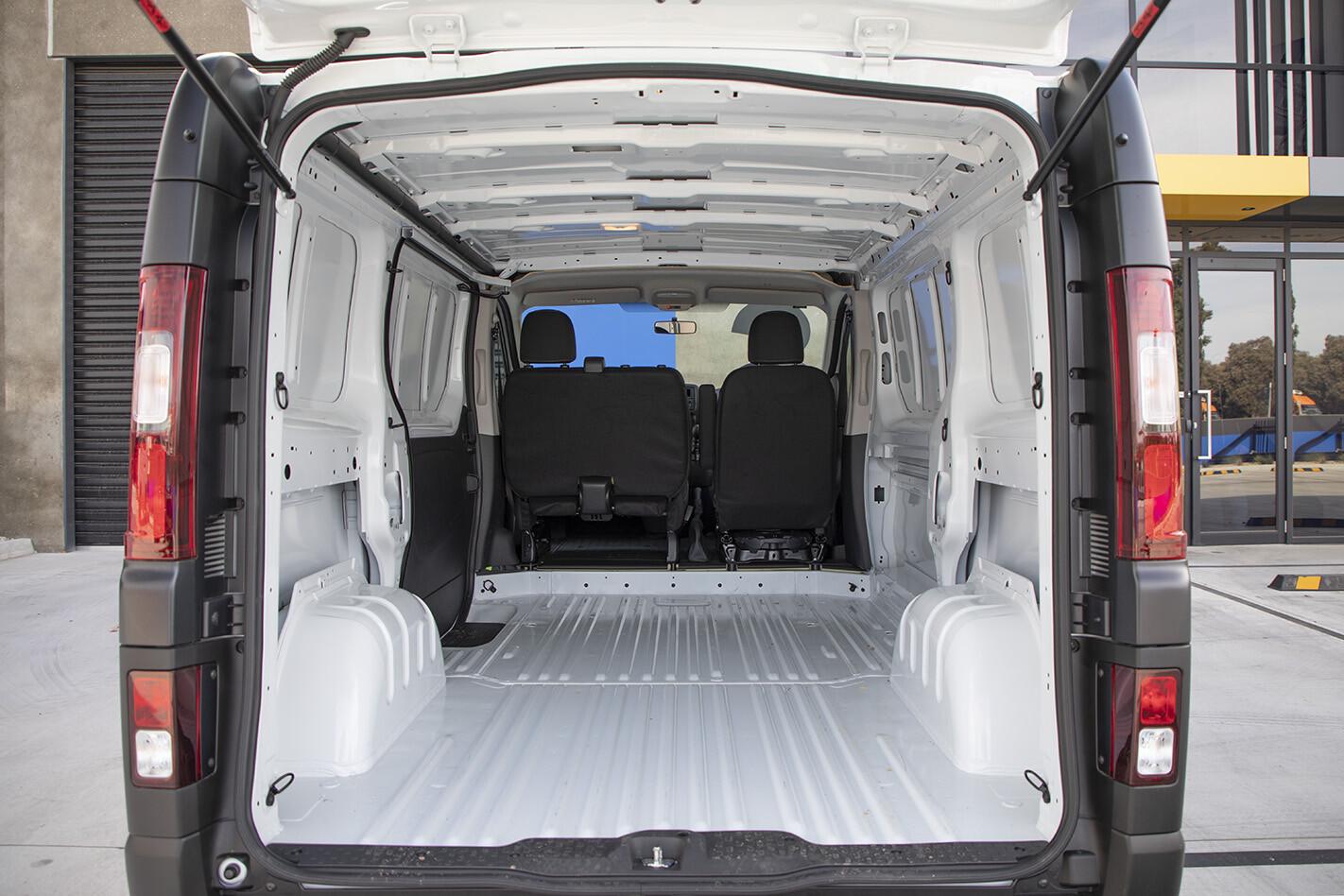 2019 Renault Trafic Traderlife Review Interior Reardoor Jpg