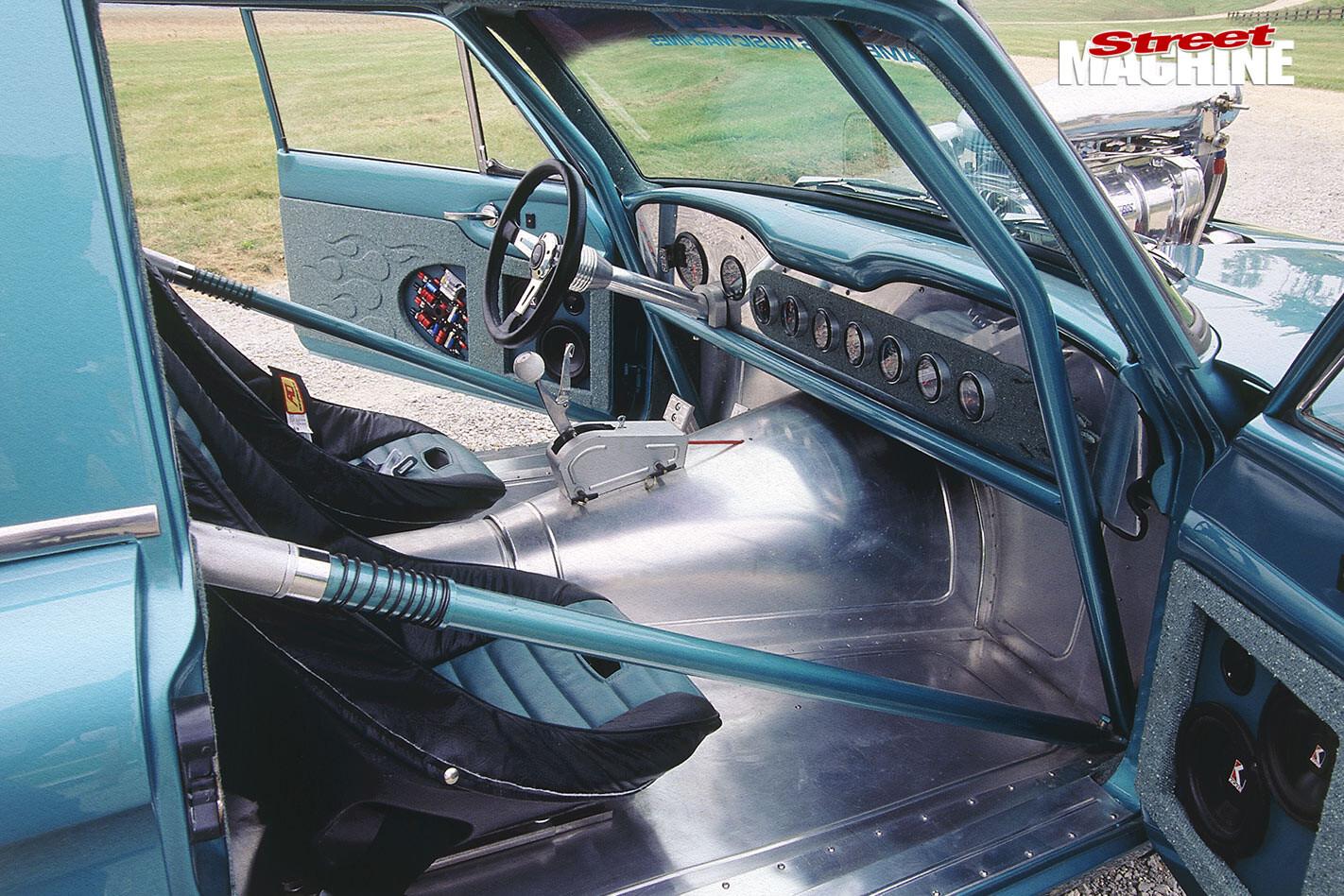 Ford Falcon wagon interior front