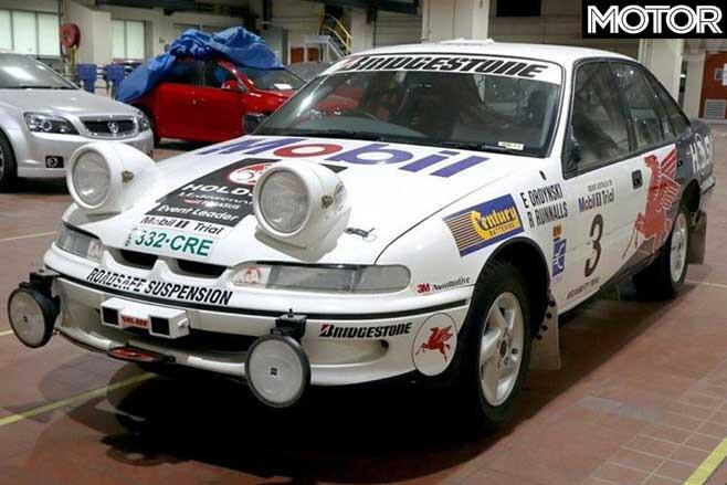 Holden Commodore VRII Rally Car Story Jpg