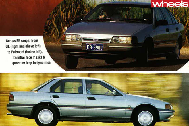 1991-Ford -Falcon -driving -side -front -on