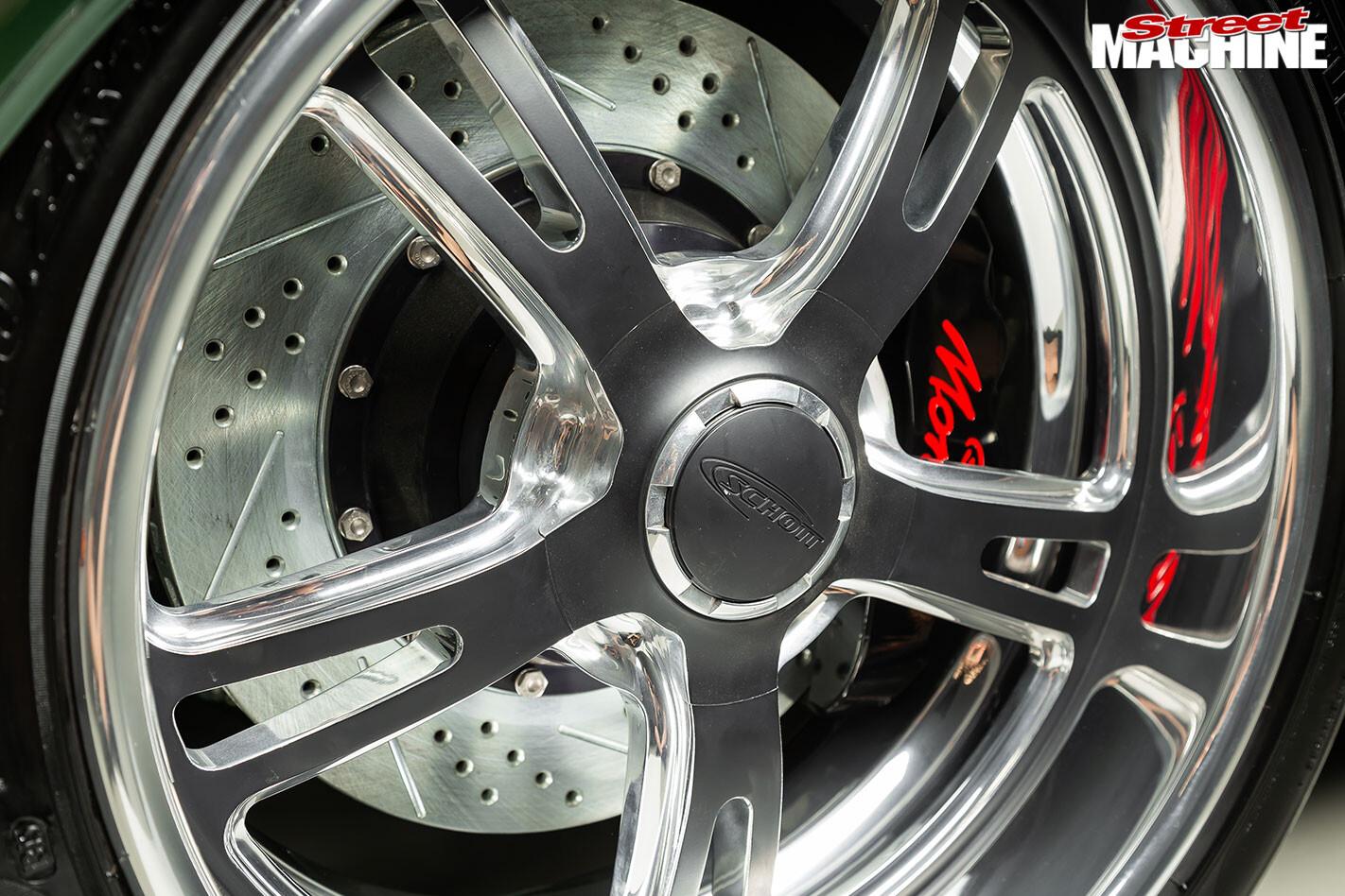 Holden HT Monaro wheel