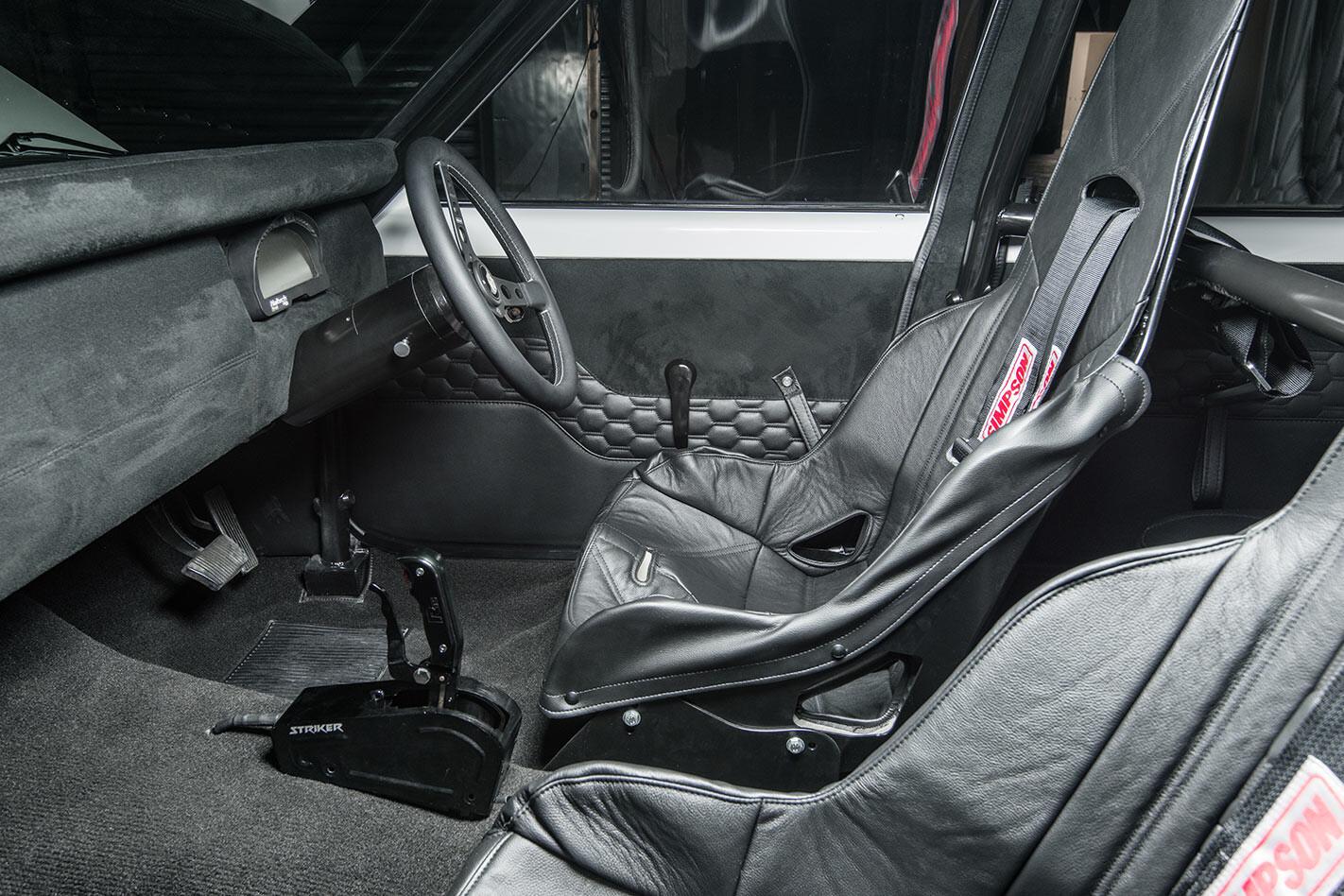 Holden LX Torana front seats