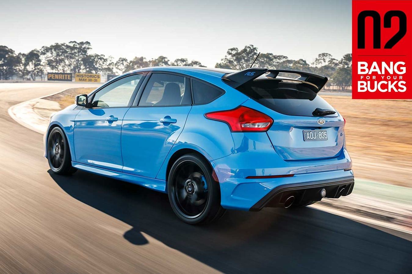 2018 Ford Focus RS Limited Edition BFYB 18 Results Jpg