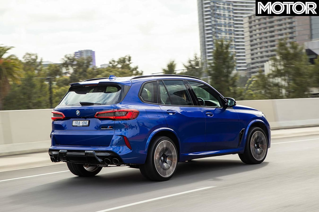 BMW X5M Competition onroad