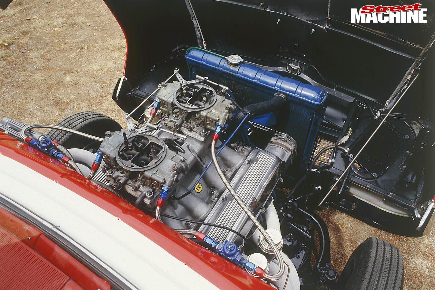 Ford Fairlane Tudor engine