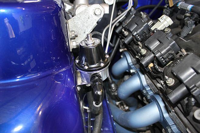 fuel pressure system