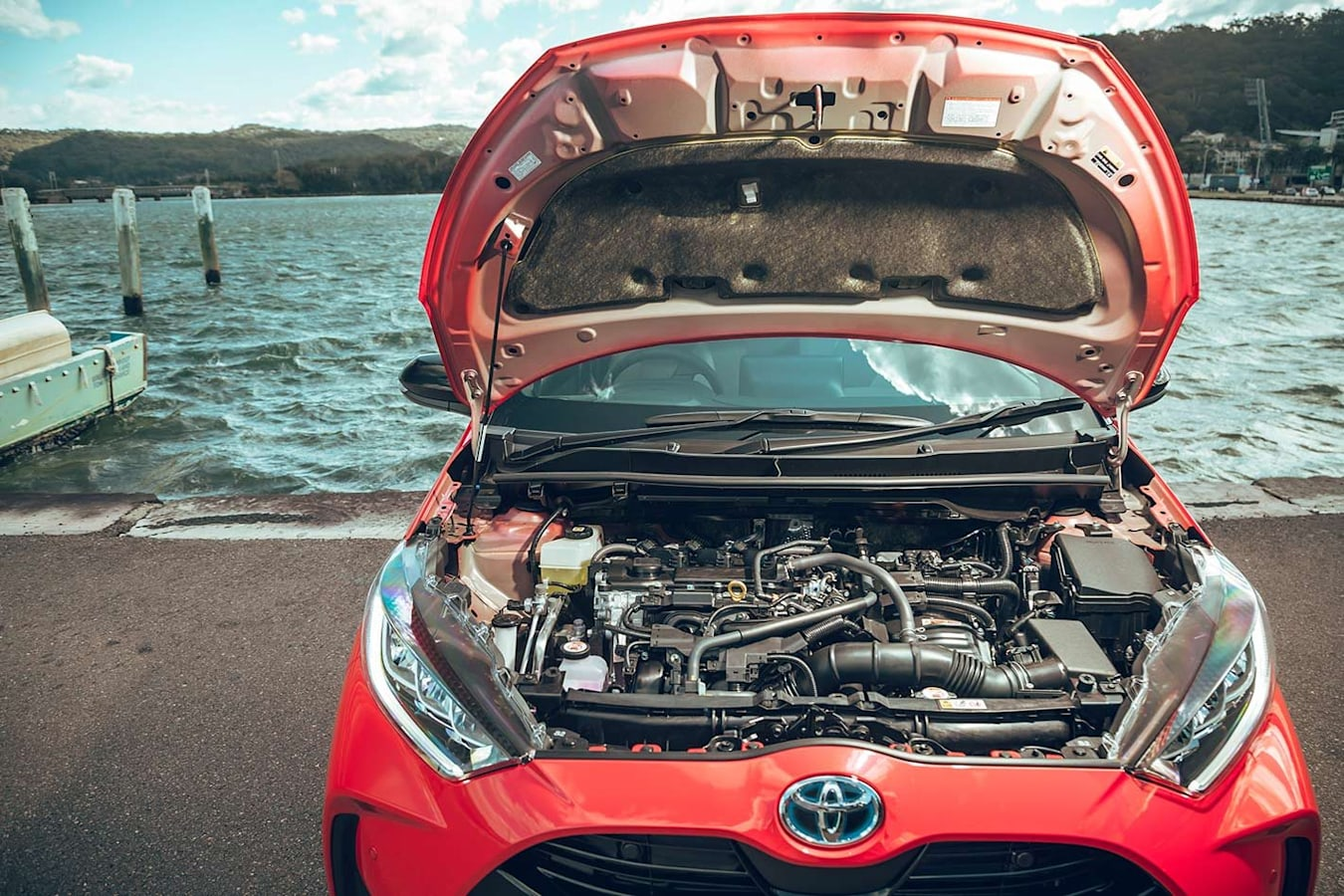 Toyota Yaris Engine Bay Jpg