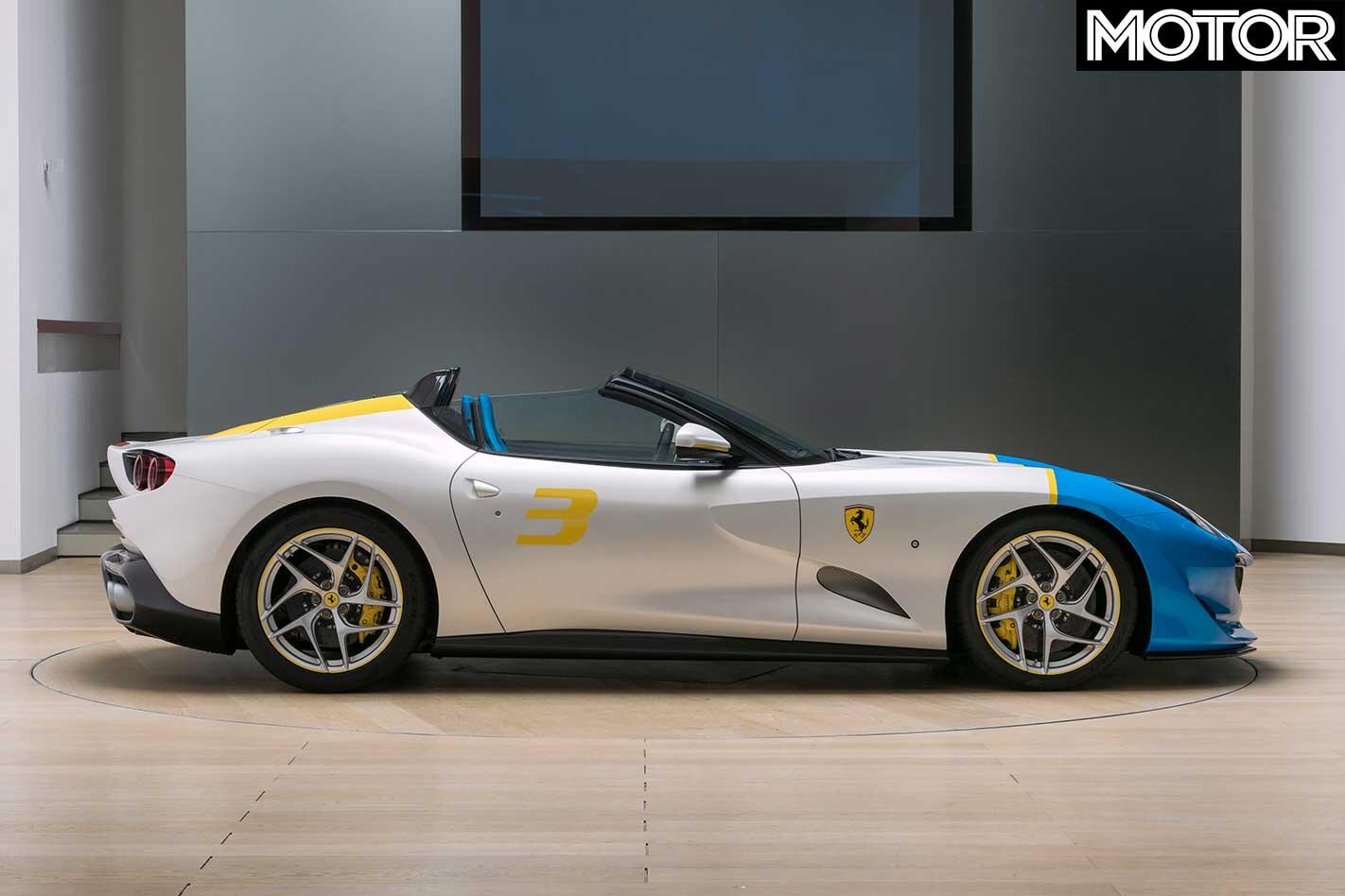Ferrari SP 3 JC Side Profile Jpg