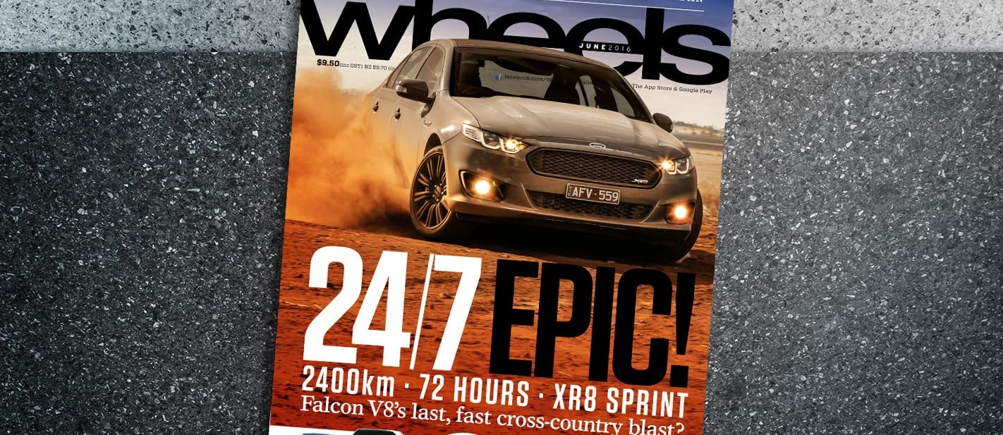 June 2016 edition of Wheels magazine ON SALE NOW!