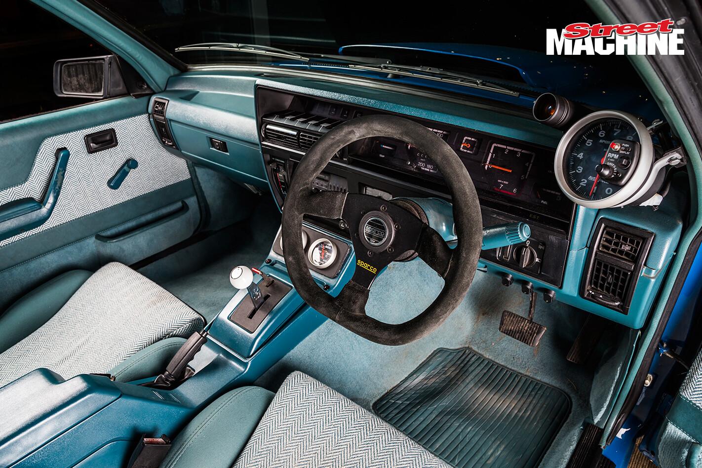 Holden VK Commodore HDT Brock Blue Meanie LSA 10