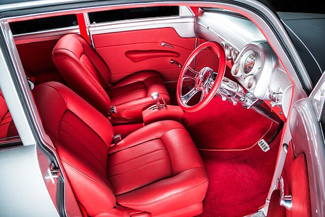 Holden FJ interior front
