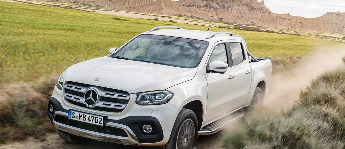 2018 Mercedes Benz X Class ute launched main