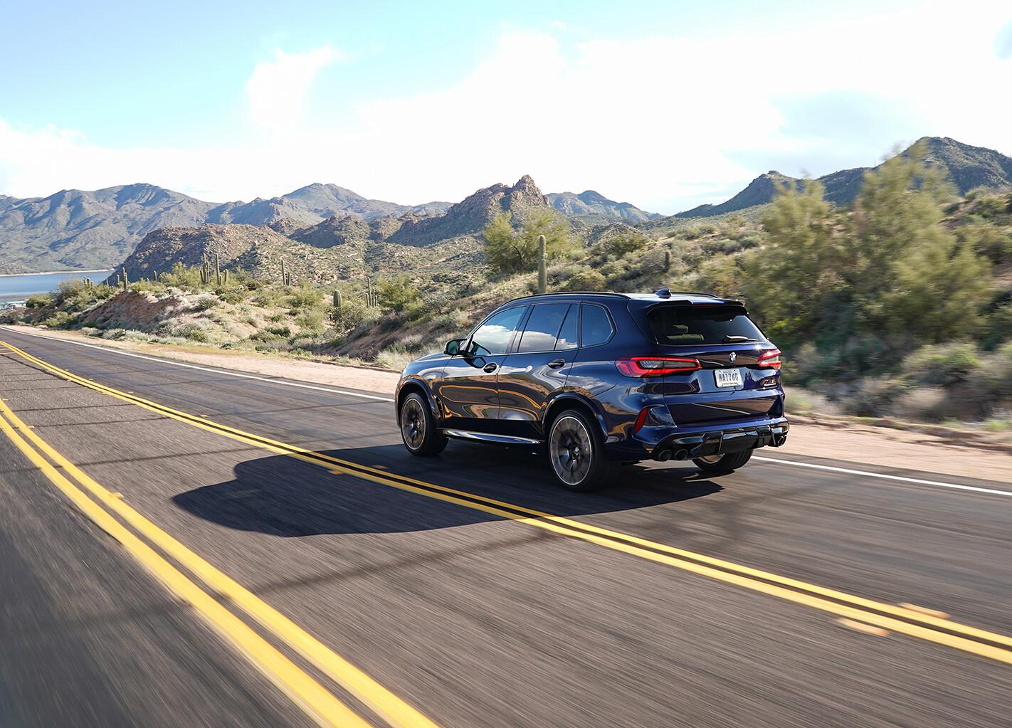 2020 BMW X5M Rear