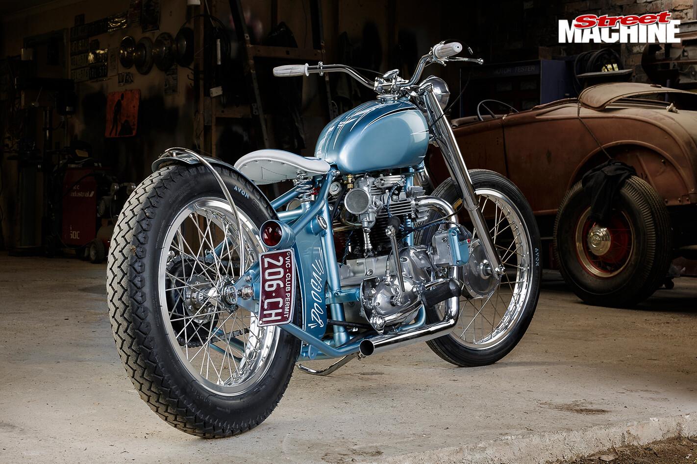 Triumph -tr 6p -rear -angle