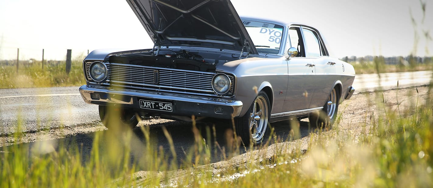 Ford XR Falcon supercharged