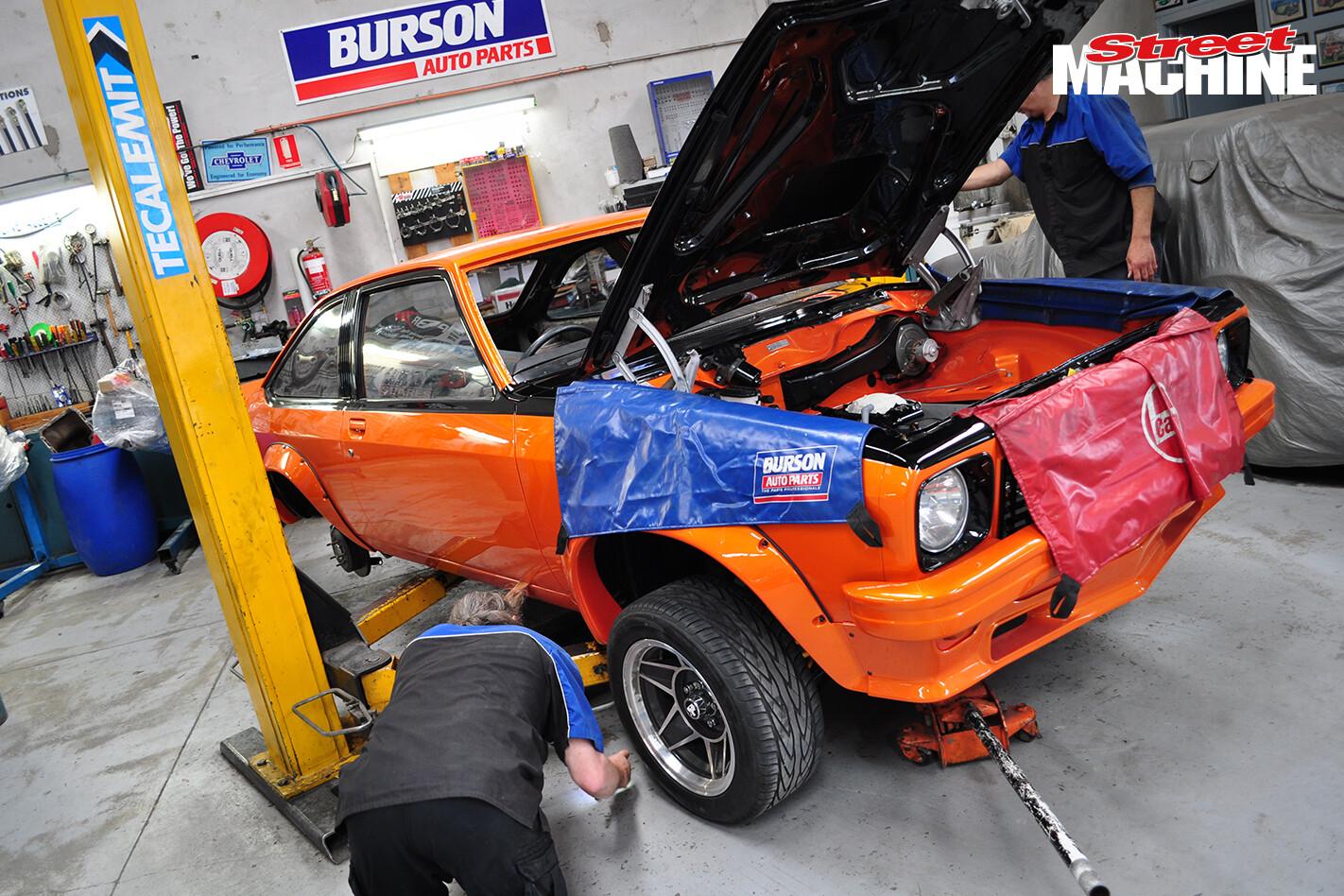 LX Torana Hatch Build 2 Nw