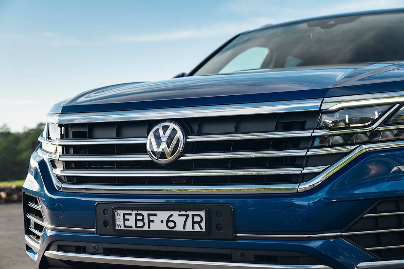 2019 Volkswagen Touareg Launchedition Grille Jpg