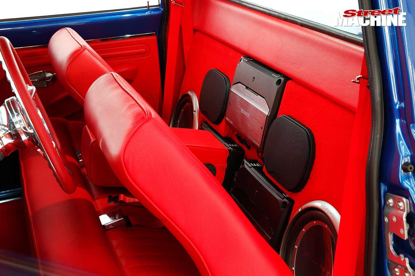 Chev C10 interior