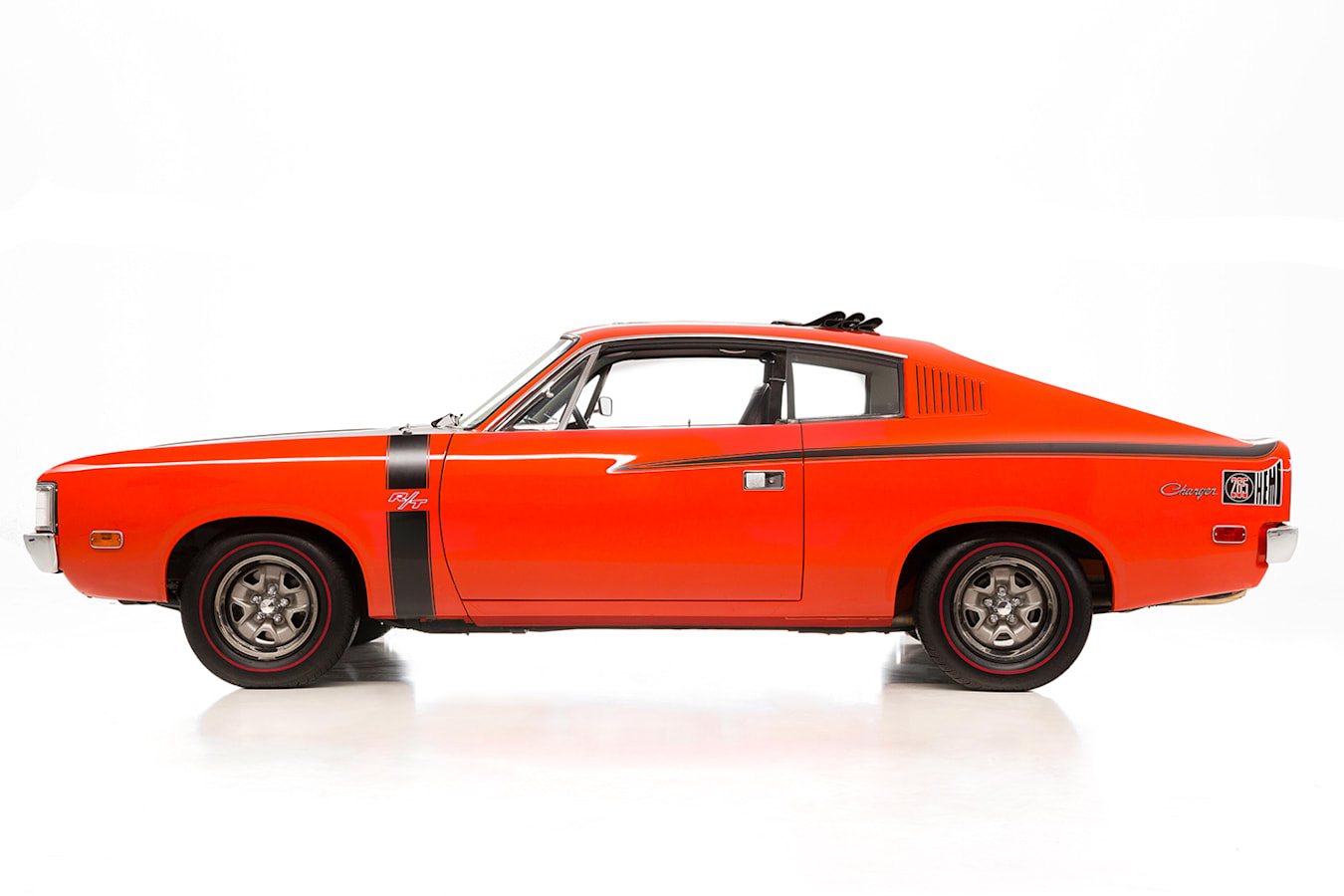 Valiant Charger side view