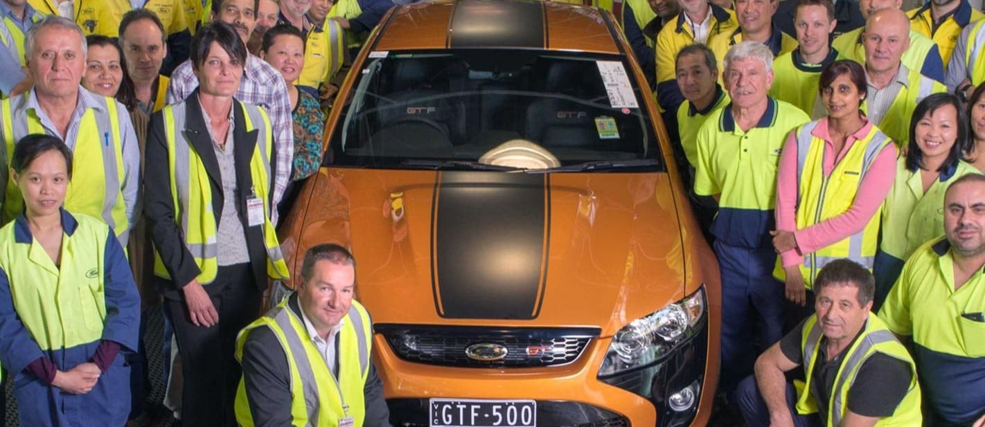 Ford FPV GT F 500 And Team Jpg