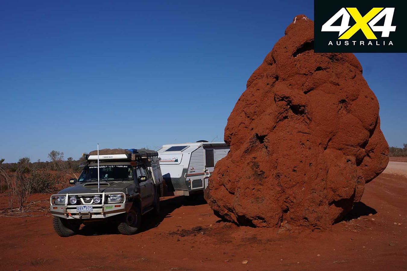 Plenty Highway NT Termite Mound Jpg