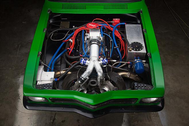 Holden LJ Torana engine bay