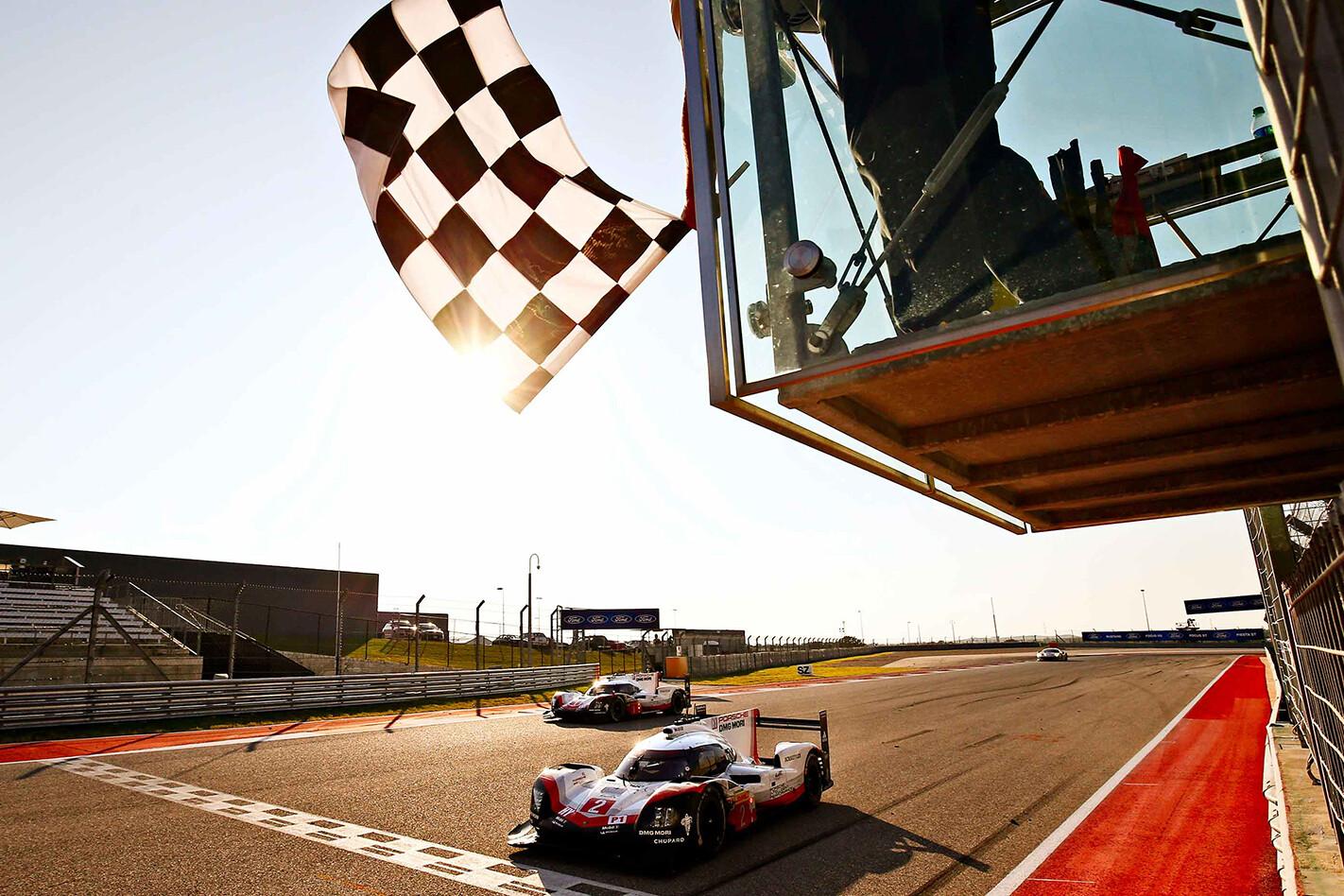 Porsche wins WEC CotA
