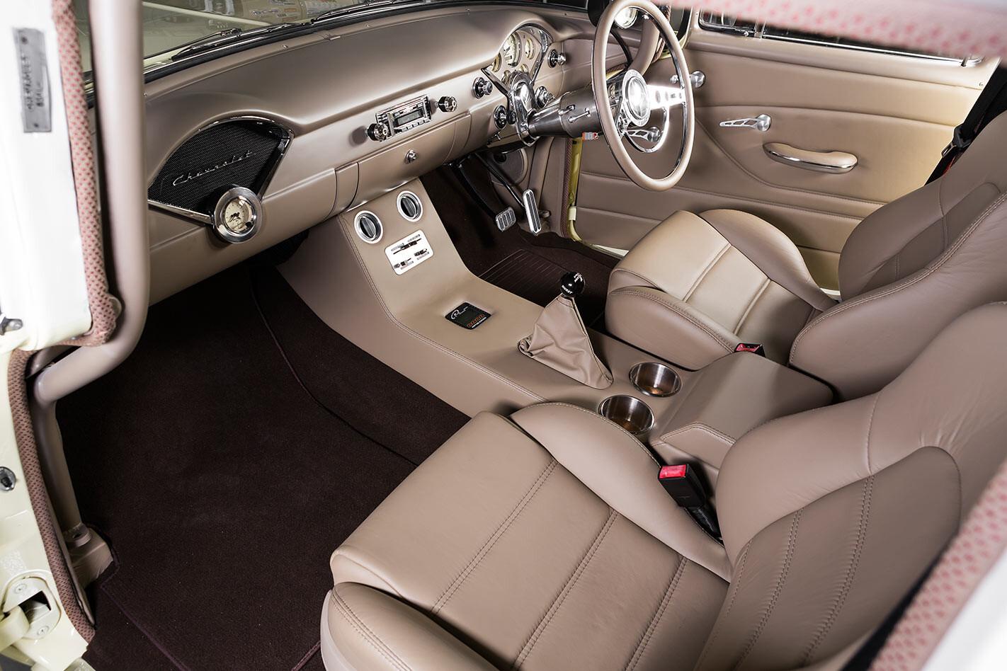 Chevrolet 210 interior rear