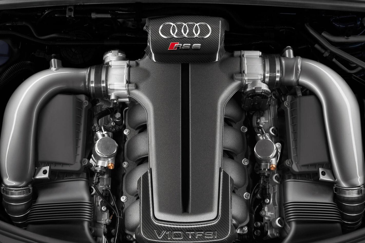 2008 Audi RS6 Avant engine