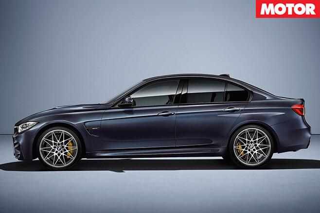BMW M3 30 Jahre side