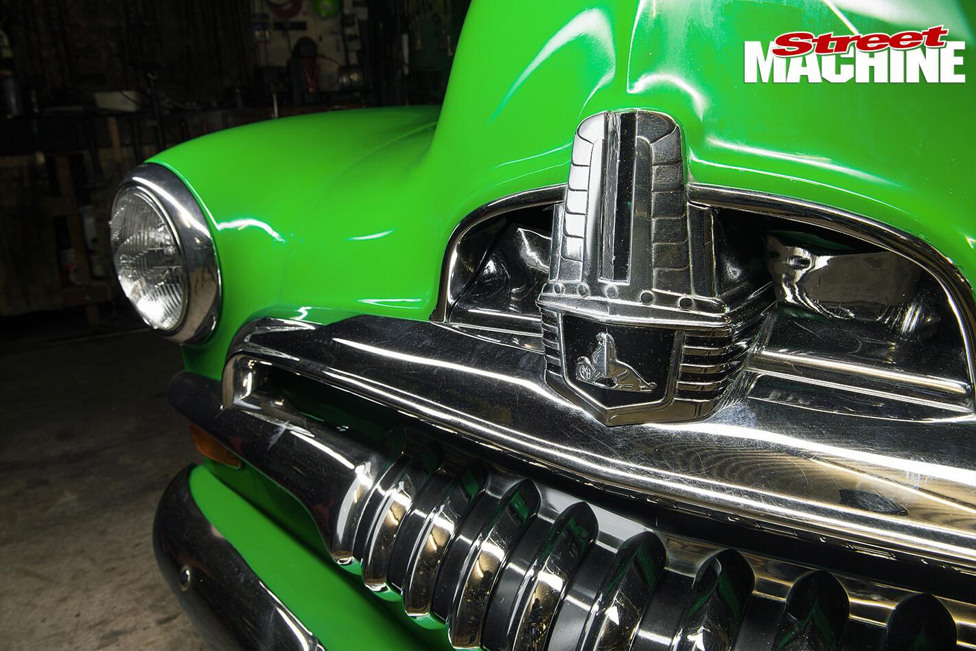Holden -FJ-Utility -grille -detail