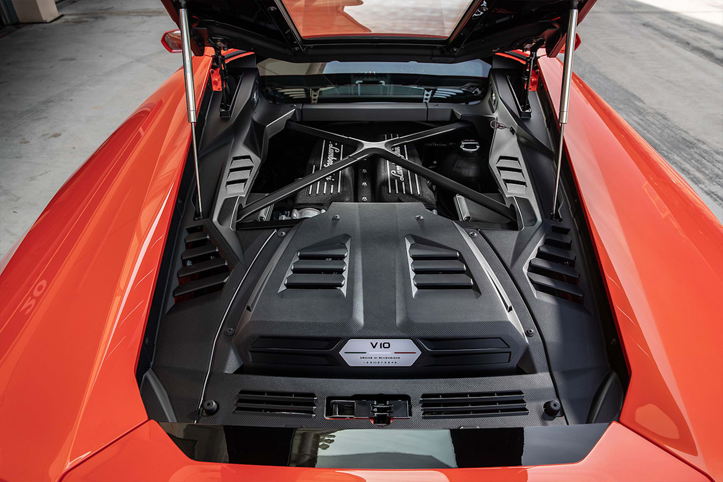 Lamborghini Huracan Evo Engine Jpg