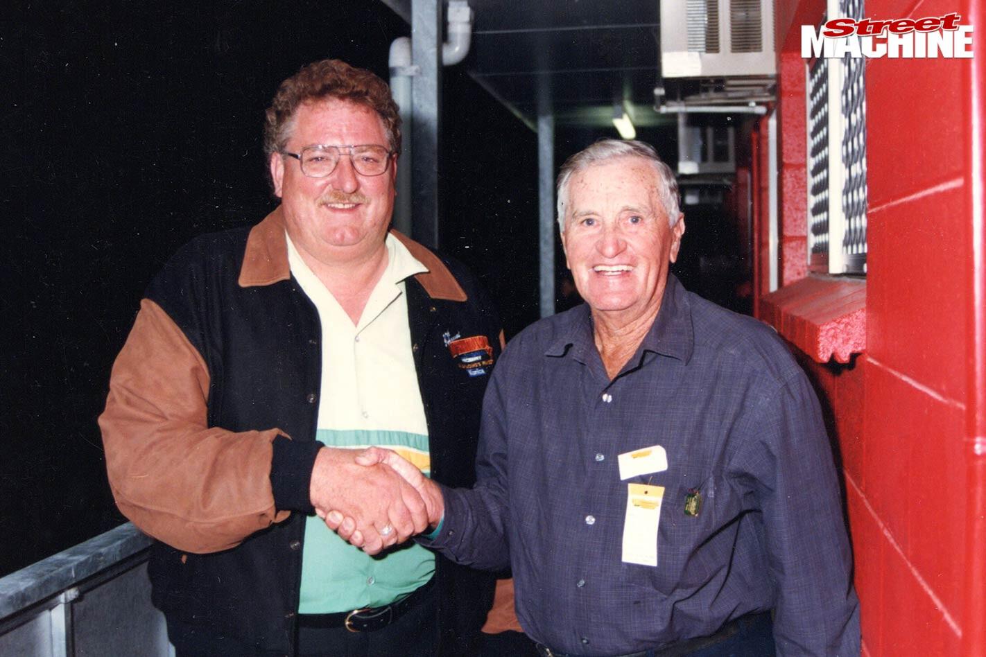 Stomper with Bill Gunn